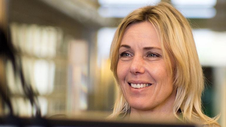 Jenny Lindberg, slottsträdgårdsmästare på Hovdala