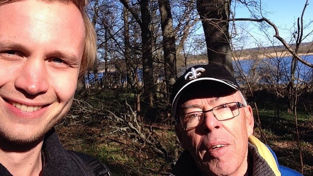 Adam och Rune Lindkrantz