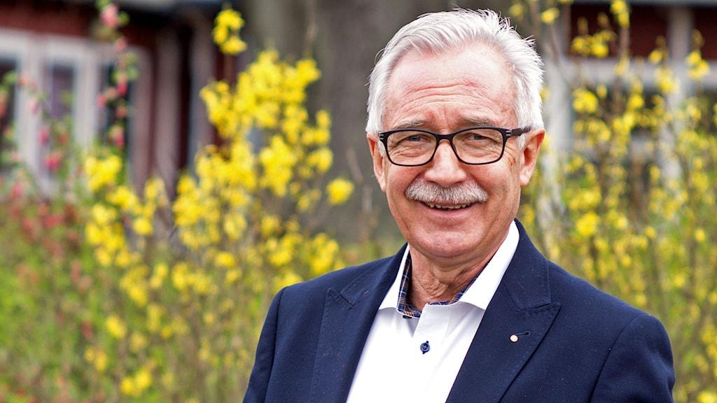 Uno Nilsson, rektor på Jacobsskolan i Hässleholm