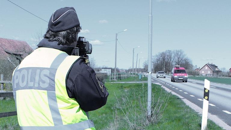Polisen genomför extra hastighetskontroller