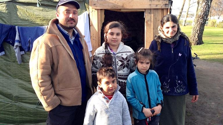 Familjen Ciurar från Rumänien