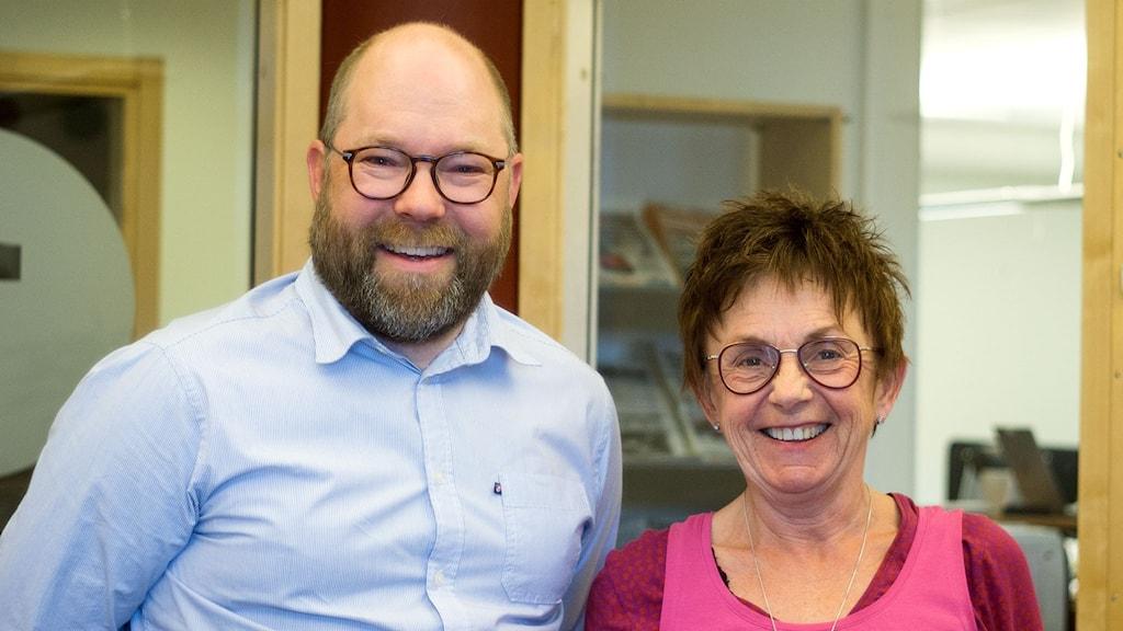 Robert Axelsson och Elisabet Radeklev