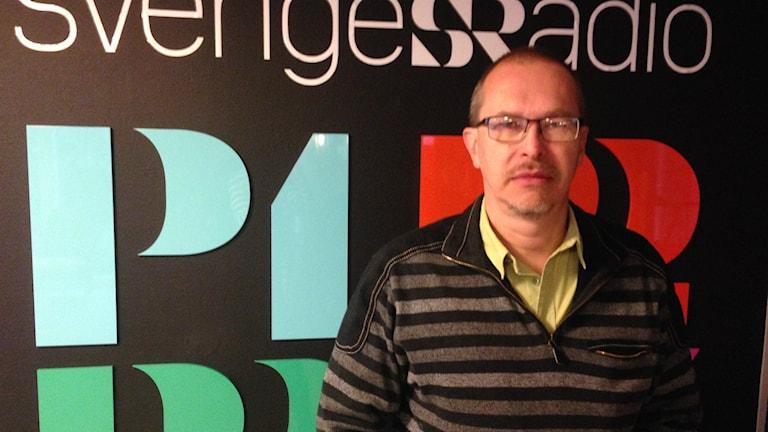 Clifford Johansen, reporter Kristianstadsbladet