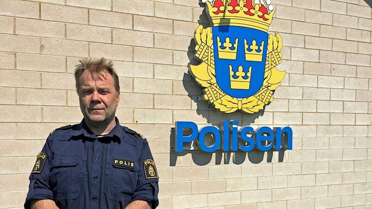 Rolf Paimensalo, polis i Östra Göinge