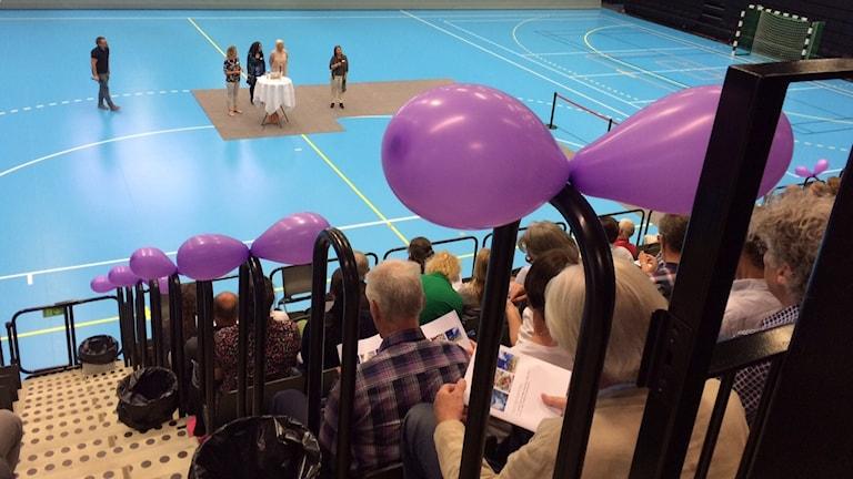 Turistsatsningen i Sydost presenterades med ballonger och glam i Ystad Arena.
