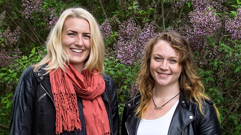 Hanna Henriksson och Hanna Blomstrand