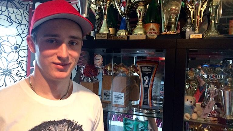 18-årige Joel Eriksson har redan vunnit många priser.