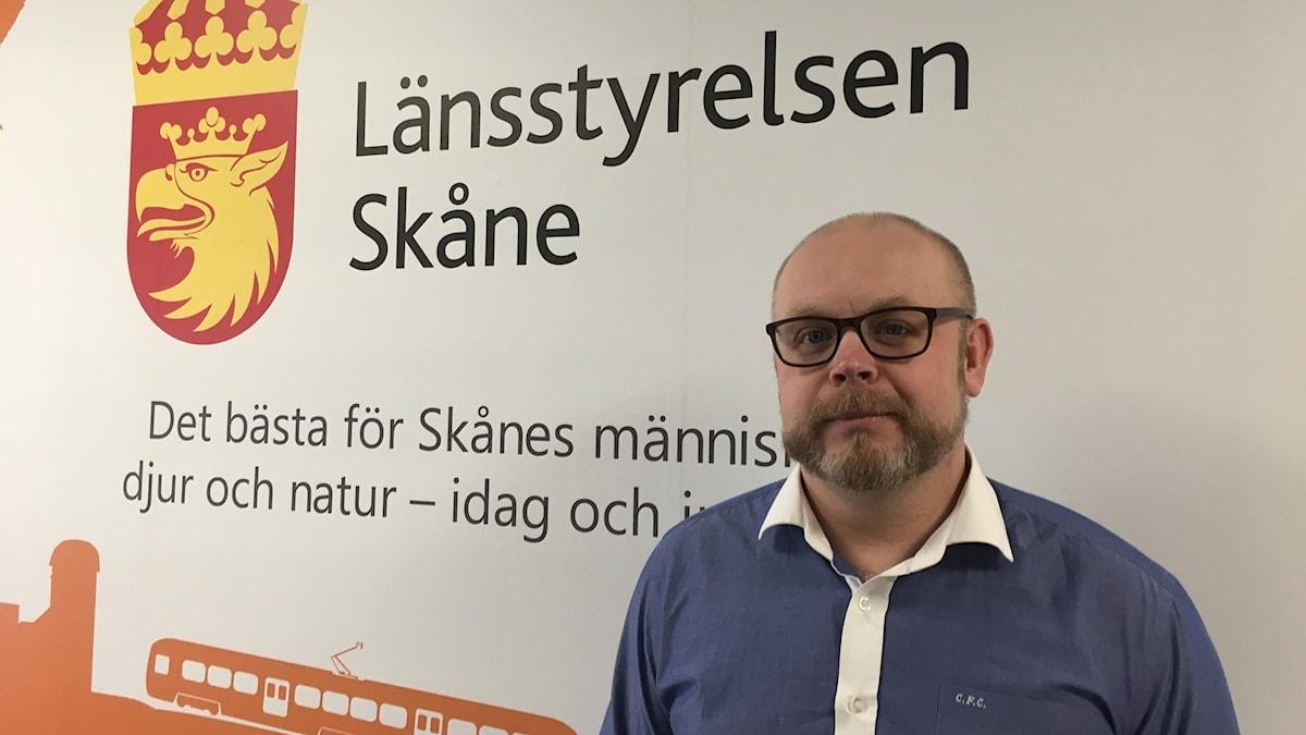Marcus Björklund är enhetschef för djurskyddsenheten på länsstyrelsen i Skåne.