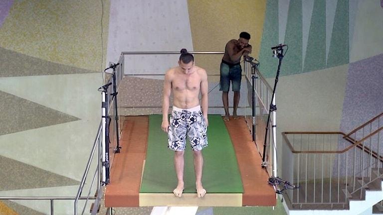 Bild från dokumentären Hopptornet.