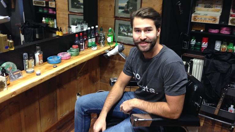 Barberaren Robert Grezeszczak