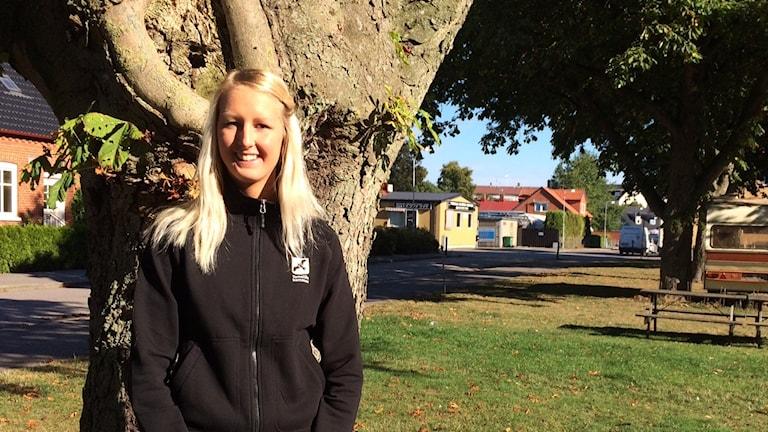 Ronja Mårtensson är ny fältassistent i Tomelilla kommun.
