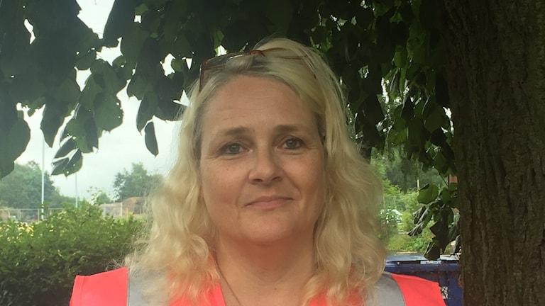 Ingela Hansson, vice ordförande i Tryggatjejer