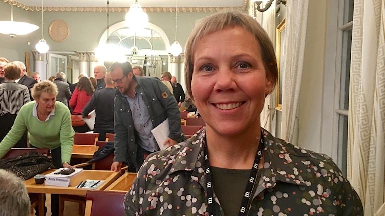 Jeanette Ovesson (M), ny kommunstyrelseordförande i Simrishamn.