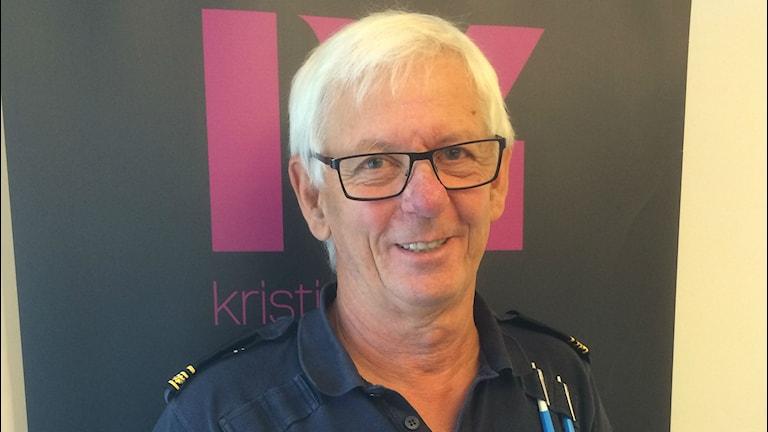 Staffan Rosén, kommunpolis i Hässleholm. Foto: Fredrik Bergman Sveriges Radio P4