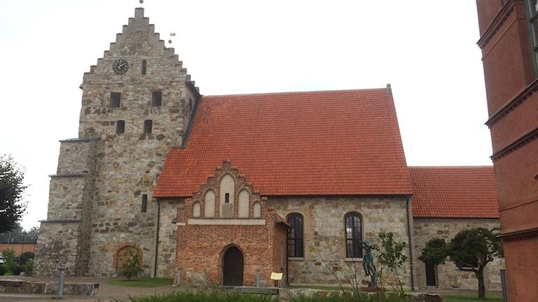 Sankt Nicolai kyrka i Simrishamn.