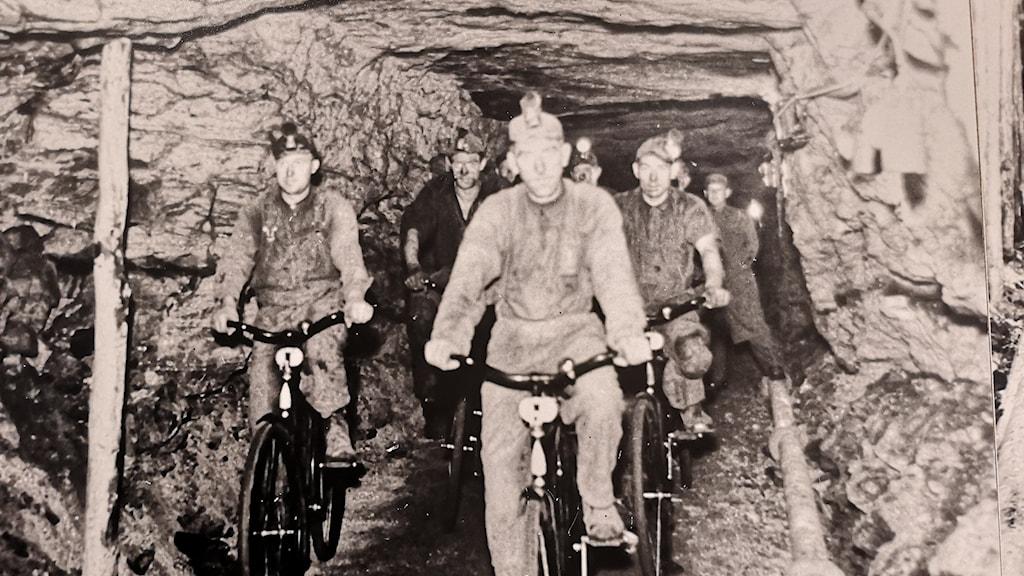 Bild från gruva