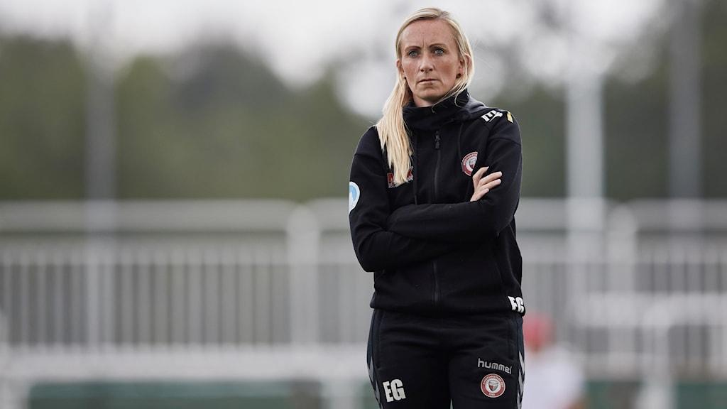 Tränare Elisabeth Gunnarsdottir  Kristianstad DFF KDFF