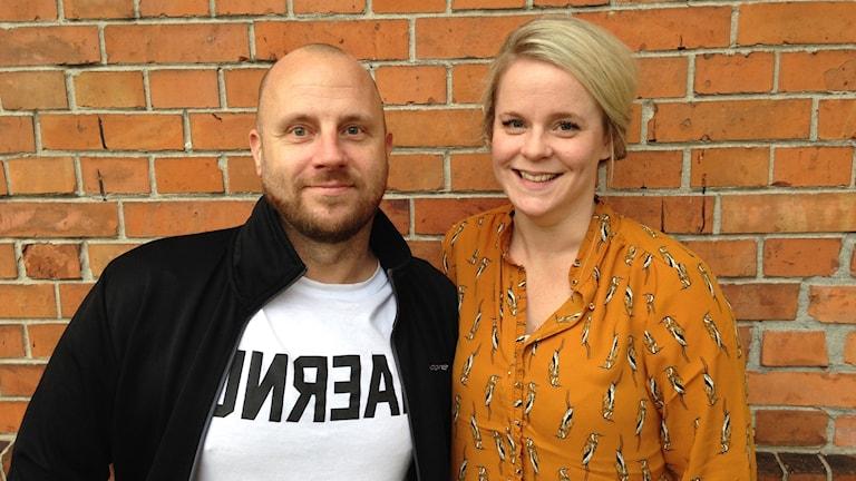 Malin Grip och Rasmus Svantesson