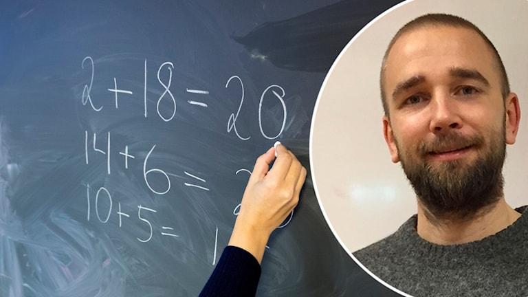 Johan Bern - matematiklärare på Antonskolan.