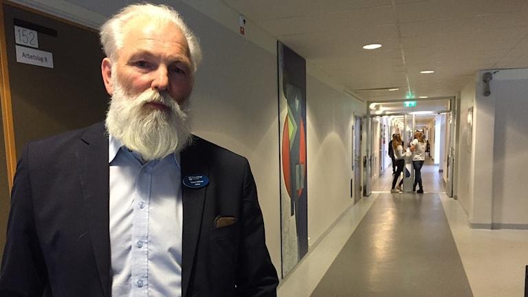 Robert Dirksen är rektor på Göingeskolan i Broby.