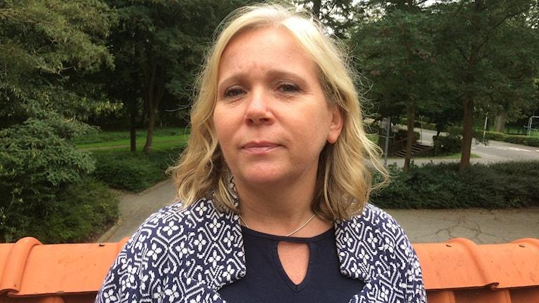 Helene Grafman, kommunikationschef, Tomelilla kommun.