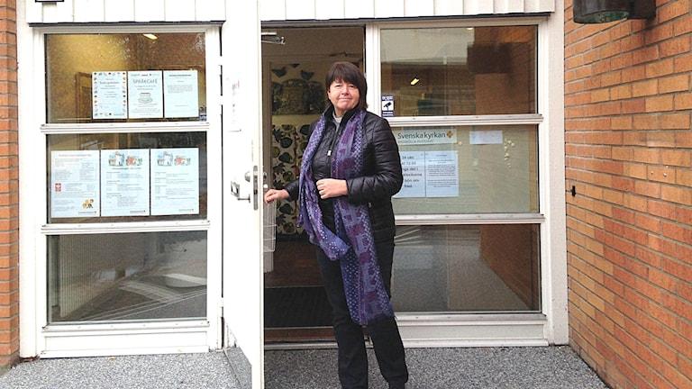 Pia Wiktors är kontraktsprost i Villands och Gärds kontrakt.
