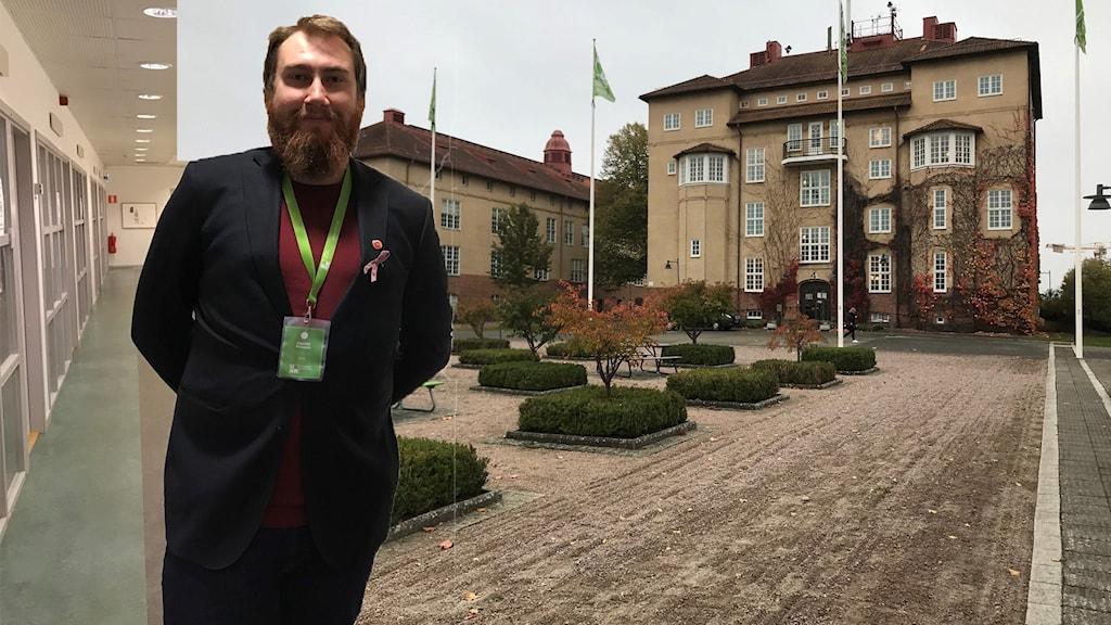 Ordförande för elevkåren på högskolan i Kristianstad
