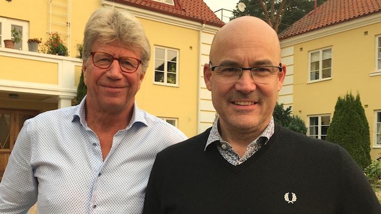 Krister Asplund och Jonas Haak