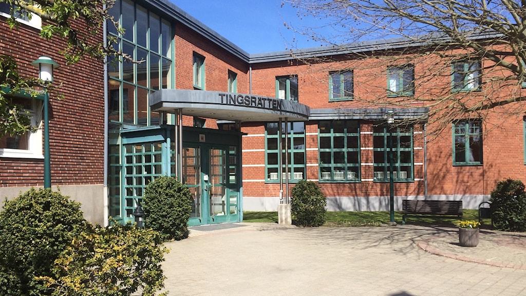 Kristianstads tingsrätt.