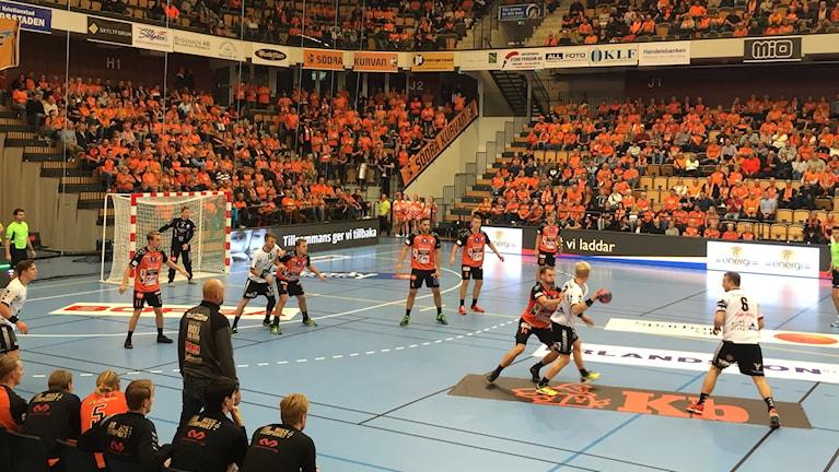 IFK Kristianstad i mötet med IFK Ystad.