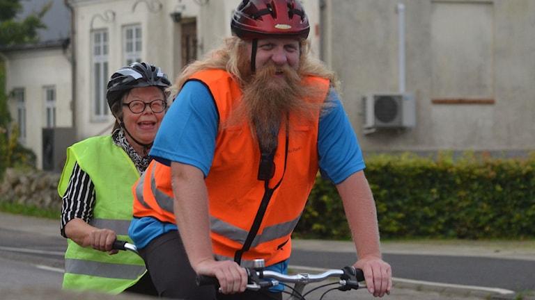 Johan Pettersson & Lena Alebo.
