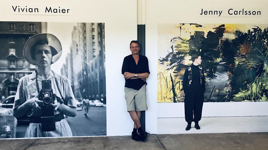 Johan Petterson har curerat utställningen.
