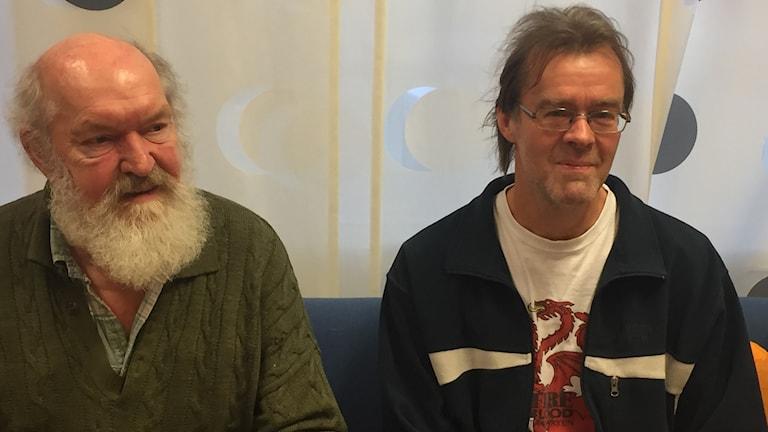 Leif B Frid och Anders Lord