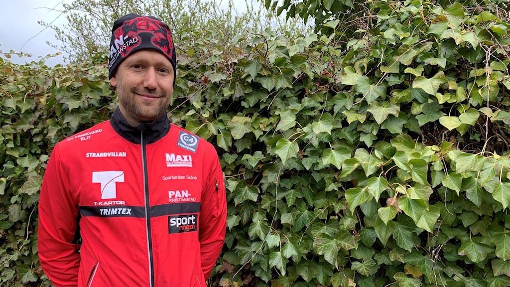 Johan Modig är sportchef på orienteringsklubben Pan i Kristianstad.