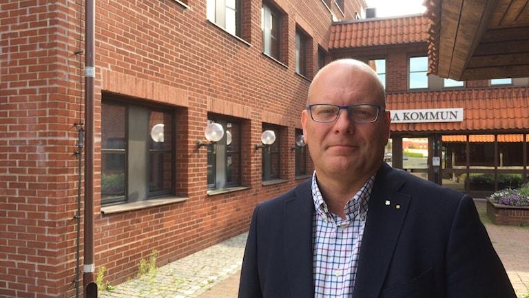 Leif Sandberg (C) kommunstyrelsens ordförande i Tomelilla.