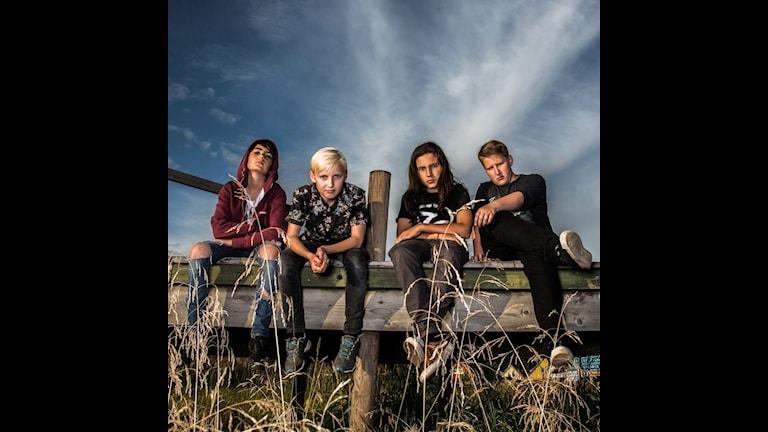 Three Dead Fingers spelar på Sweden Rock Festival 2018.