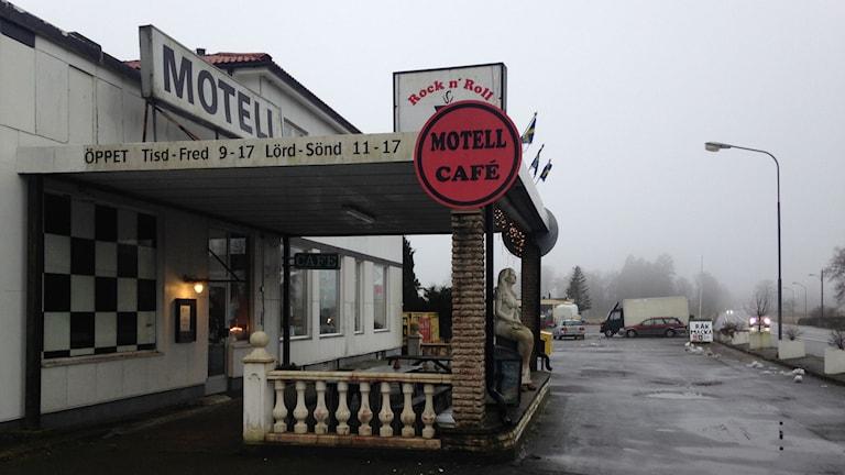 Motell och cafe i Linderöd.