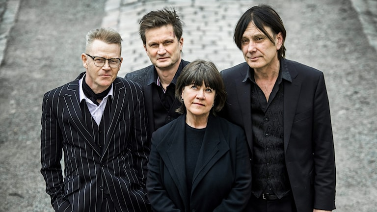 Svante Fregert, Peter Puders, Eva Sonesson och Anders Karlsmark.