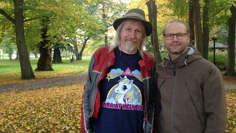 Stefan Sundström och Martin Emtenäs