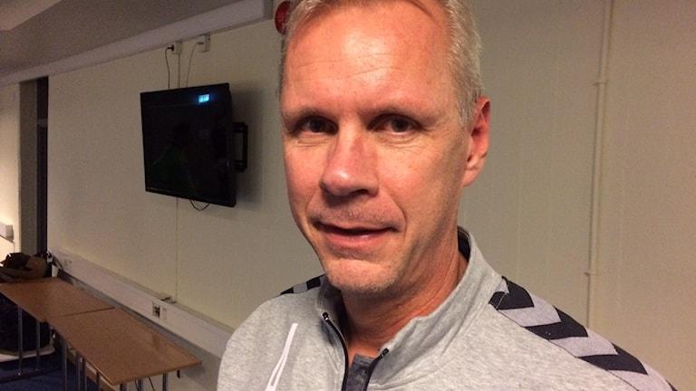 Lasse Olsson, tillfällig huvudtränare i Kristianstad