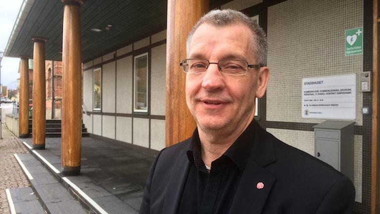Karl-Erik Olsson (S), kommunstyrelsens ordförande i Simrishamn.