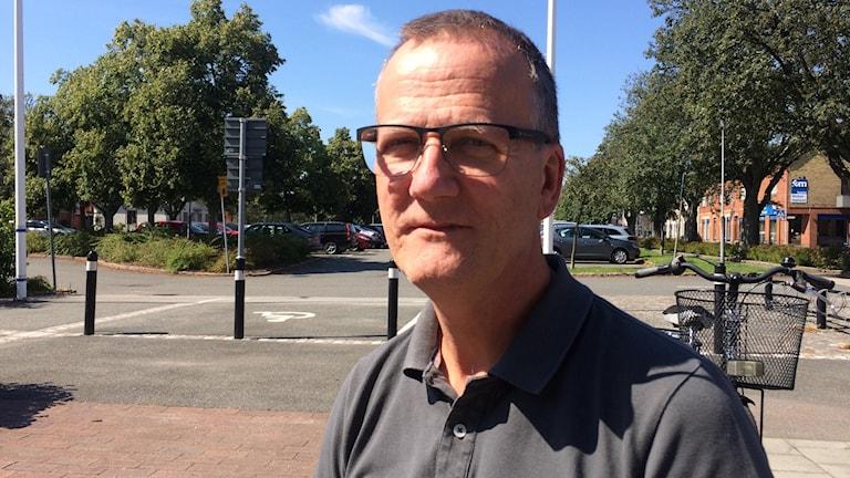Dan Bengtsson, säkerhetssamordnare i Tomelilla kommun.
