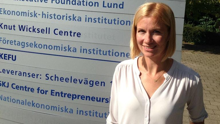 Kerstin Enflo är docent i ekonomisk historia vid Lunds universitet.