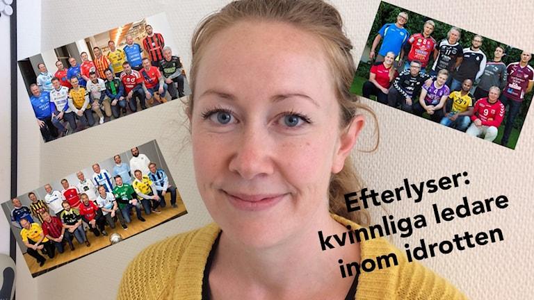 Charlotte Karlsson från SISU Idrottsutbildarna arbetar med att stötta kvinnliga ledare inom idrotten i Kristianstad.