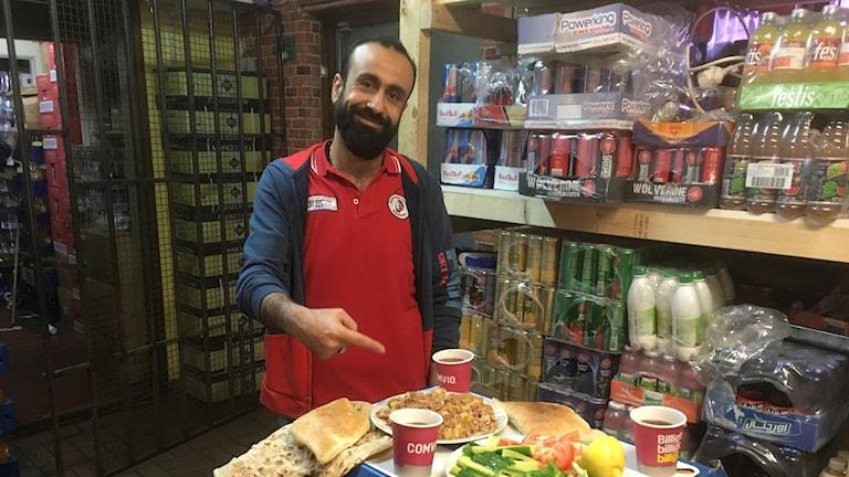 Bashar Ismail på Gamla Näsby Livs i Kristianstad
