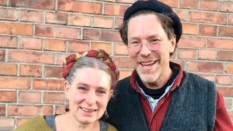 Marie och Gustav Mandelmann.