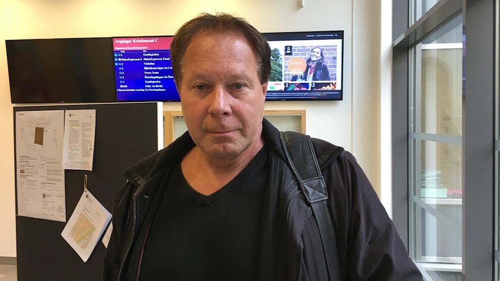 Kenth Olsson, chef på barn- och utbildningsförvaltningen i Kristianstad kommun.