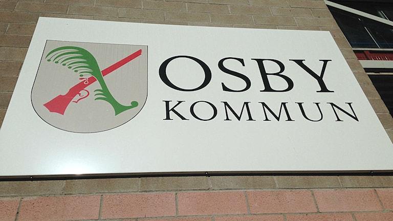 Osby kommun.