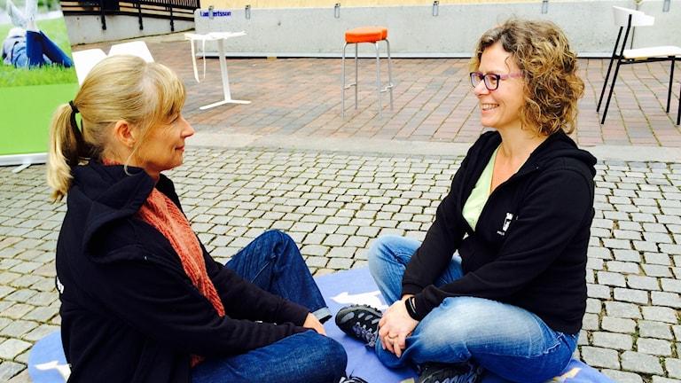 Cecilia Zetterberg och Pernilla ALm Ramberg
