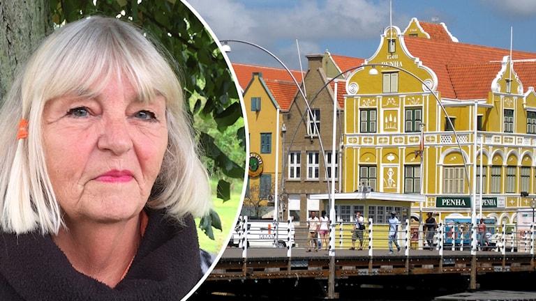 Ulla Strandberg från Skånes Fagerhult och Curacao